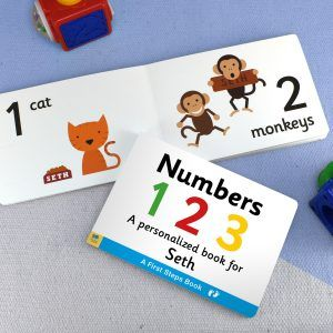 Personalised First Steps Board Books