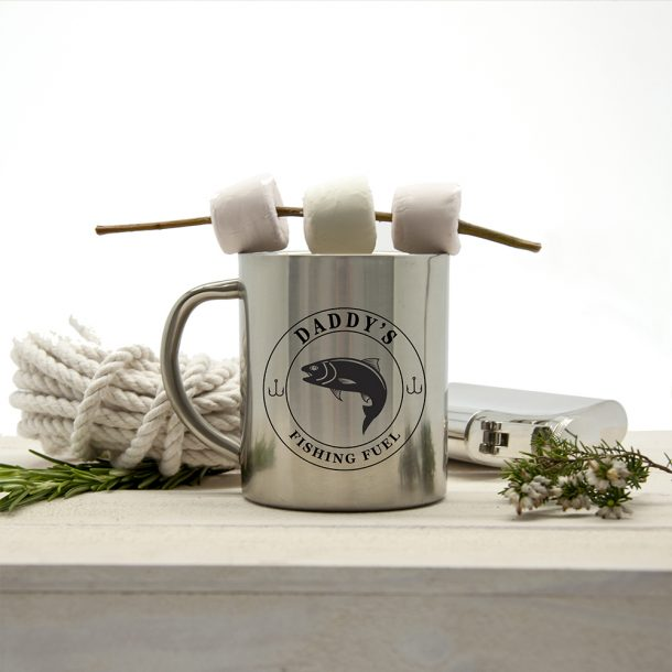 Personalised Fishing Fuel Outdoor Mug