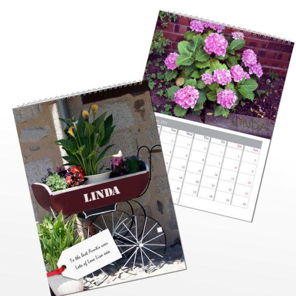 Personalised Gardeners Calendar