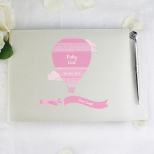 Personalised Girls Guest Book
