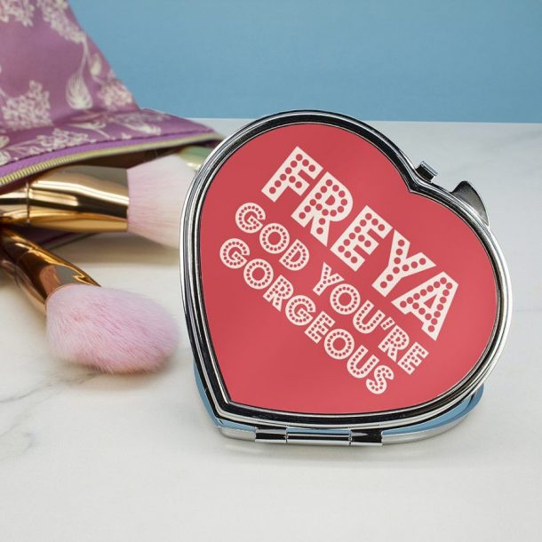 Personalised Gorgeous Compact Mirror
