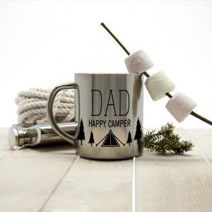 Personalised Happy Camper Outdoor Mug