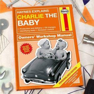 Personalised Haynes Explains Babies Book