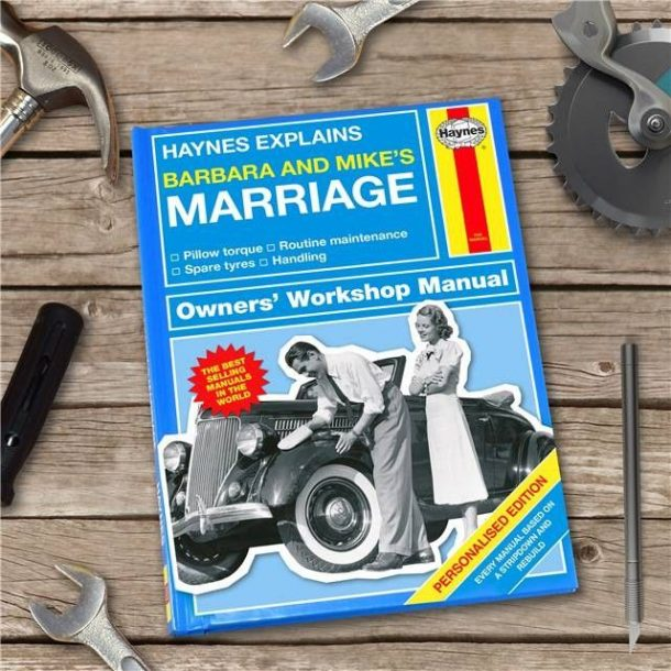 Personalised Haynes Explains Marriage Book