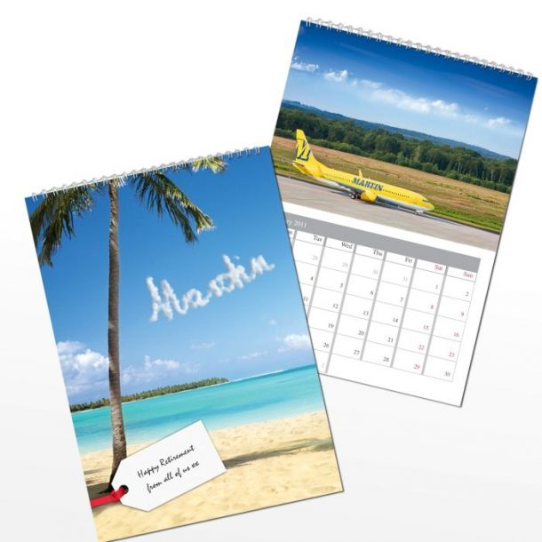 Personalised Holiday Calendar