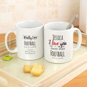 Personalised I Love You More Than Mug