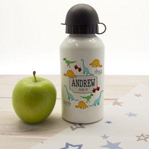 Personalised Jurassic Water Bottle