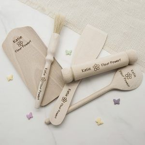 Personalised Kids Flour Power Baking Set