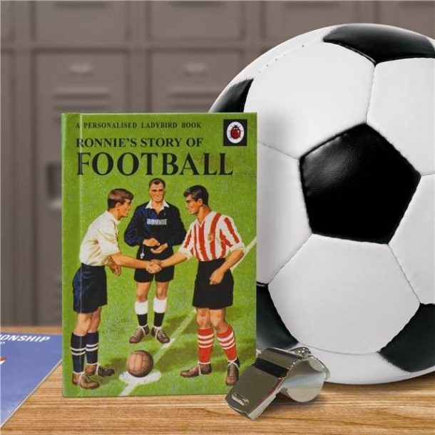 Personalised Ladybird Football Book