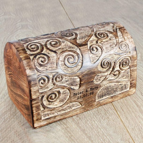 Personalised Let's Grow Old Together Keepsake Box
