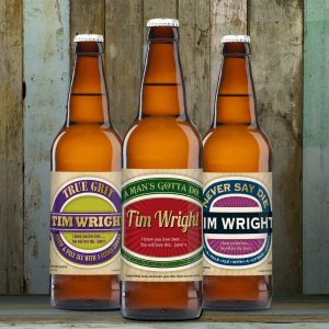Personalised Man's Virtues Set Of Craft Beers
