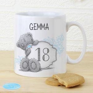 Personalised Me to You Birthday Age Mug