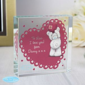 Personalised Me To You Large Crystal Token
