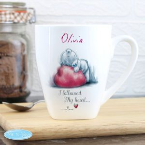 Personalised Me To You Latte Mug