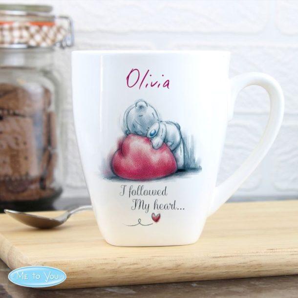 Personalised Me To You Latte Mug