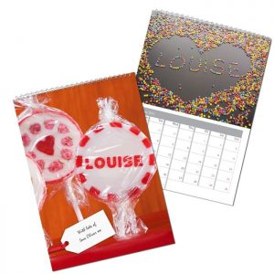 Personalised One I Love Calendar