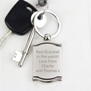 Personalised Photo and Mirror Keyring