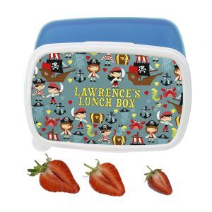 Personalised Playful Pirates Lunch Box