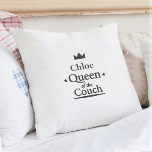 Personalised Queen Cushion Cover