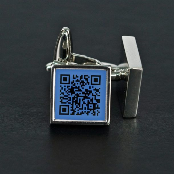 Personalised Secret Message Code Cufflinks
