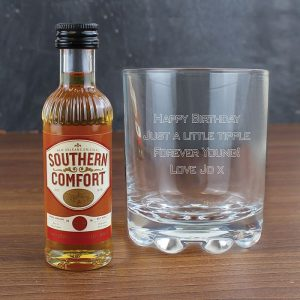 Personalised Southern Comfort Gift Set