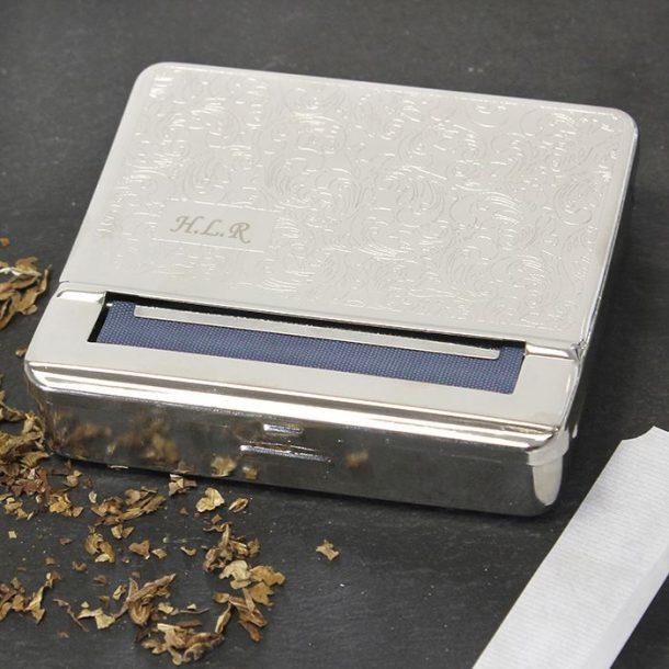 Personalised Steel Tobacco Tin
