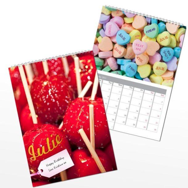Personalised Sweet Tooth Calendar