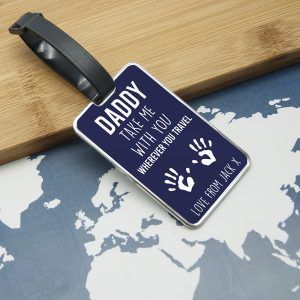 Personalised Take Me With You Luggage Tag