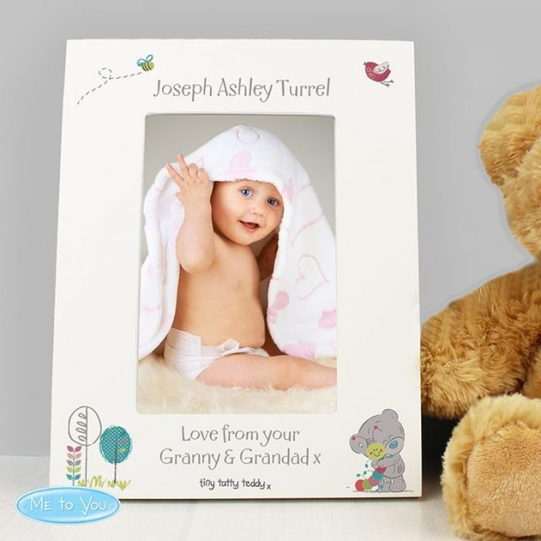 Personalised Tatty Teddy Photo Frame