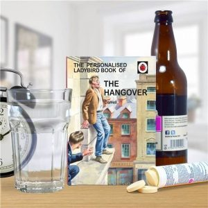 Personalised The Hangover Ladybird Book