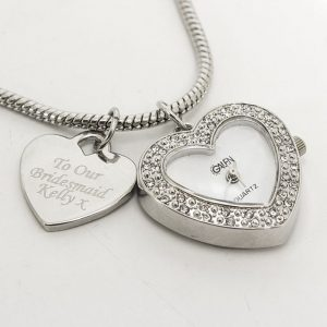 Personalised Watch Charm Bracelet