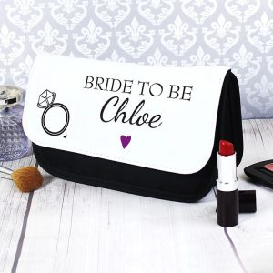 Personalised Wedding Party Make Up Bag