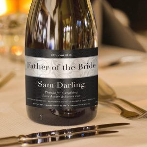 Personalised Wedding Prosecco