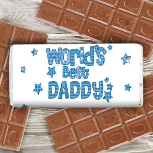 Personalised World Best Chocolate Bar