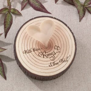 I Thee Wed Tree Ring Holder
