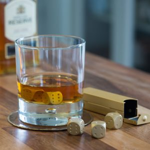 Set Of Dice Whisky Stones