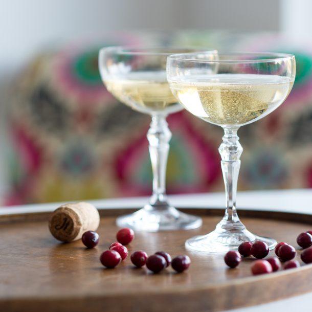 Set of Vintage Champagne Glasses