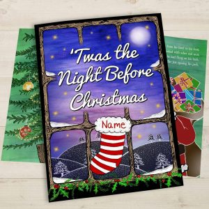 Personalised 'Twas the Night Before Christmas Book