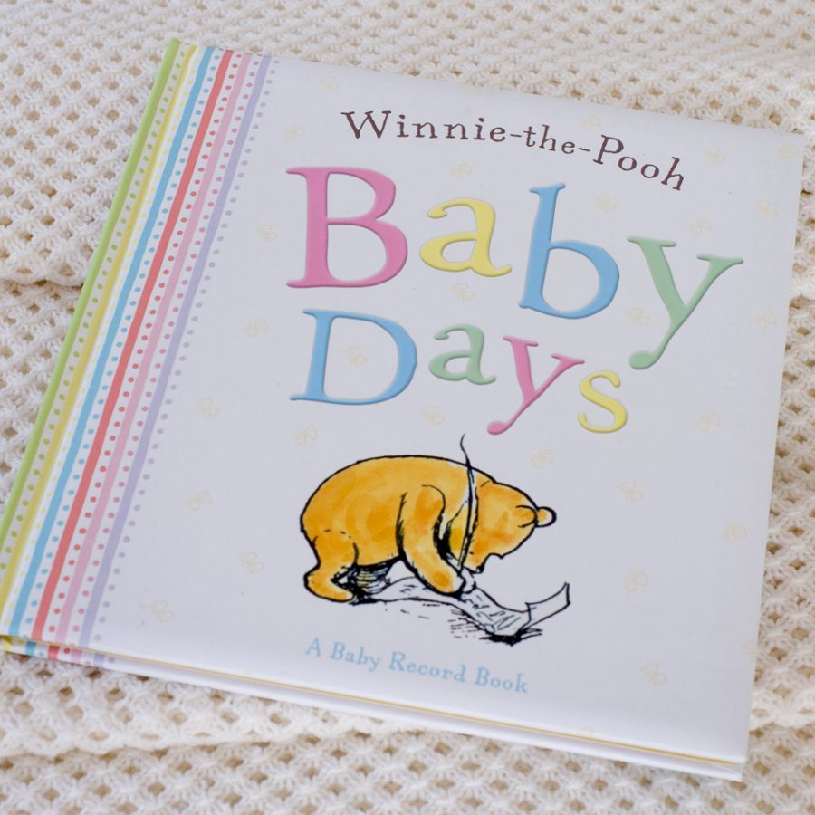 Winnie the pooh baby record book love my gifts winnie the pooh baby record book negle Image collections