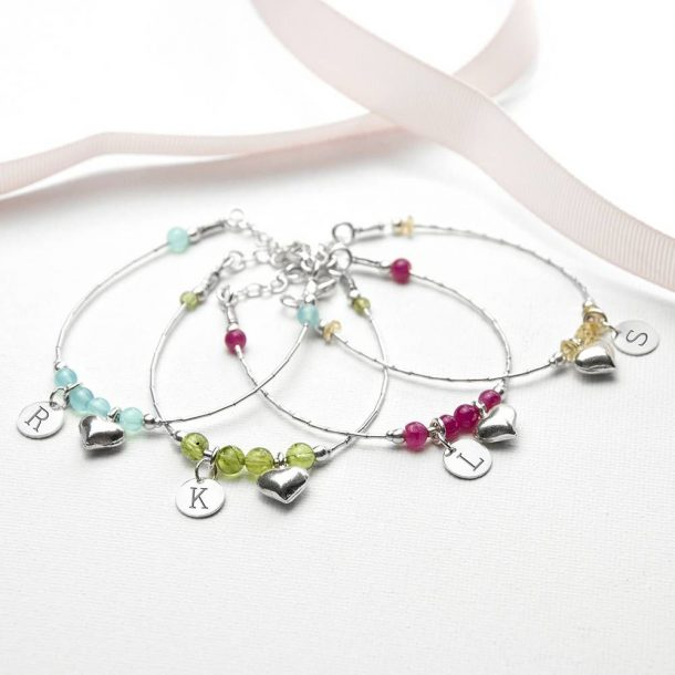Personalised Daughter Bracelet