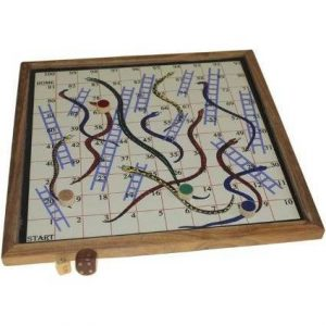 Retro Magnetic Snakes & Ladders
