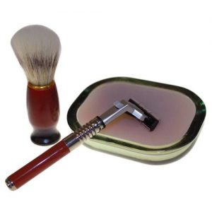 Old School Shaving Kit - Geranium & Lime
