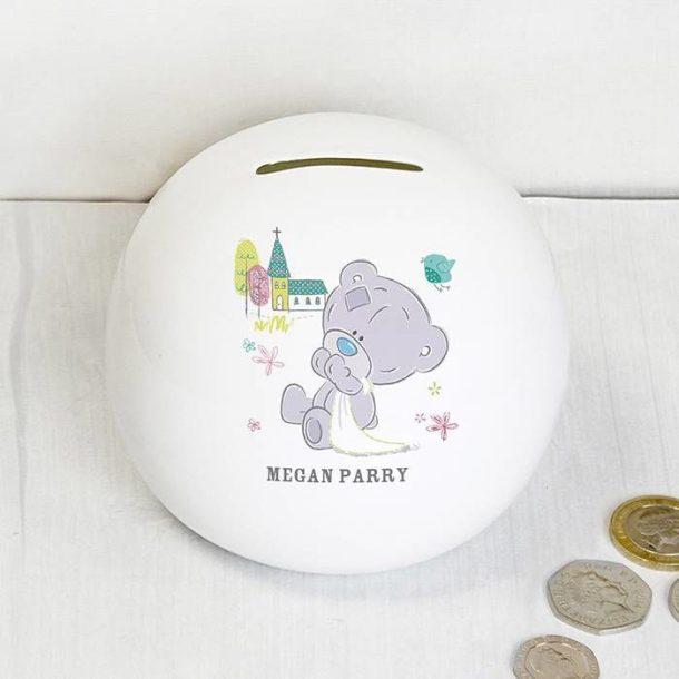 Personalised Tatty Teddy Money Box