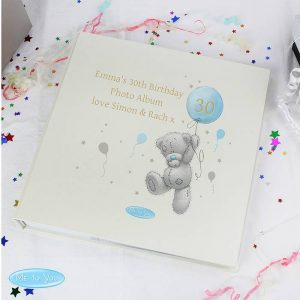 Personalised Me To You Blue Balloon Album
