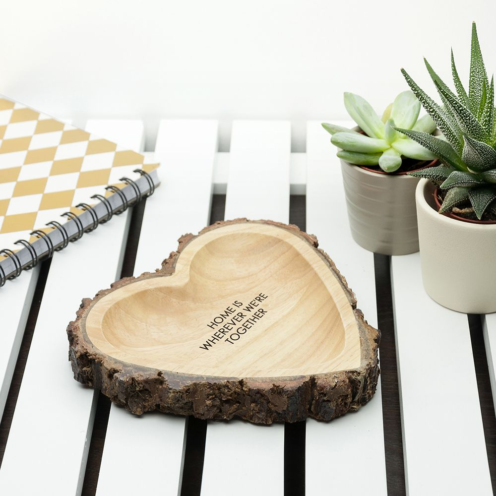 Personalised Carved Wooden Heart Dish · Personalised ... & Personalised Carved Wooden Heart Dish | Love My Gifts islam-shia.org