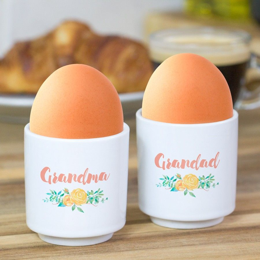 Personalised Egg Cup Set Love My Gifts