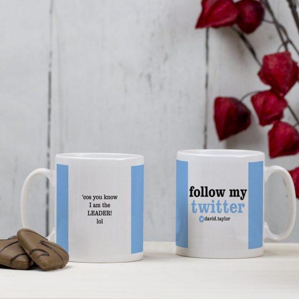 Personalised Mug - Twitter