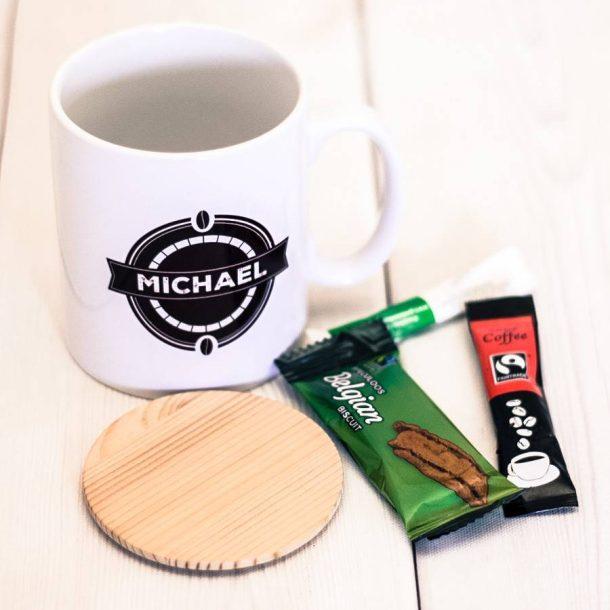 Personalised My Cuppa Coffee Mug Set