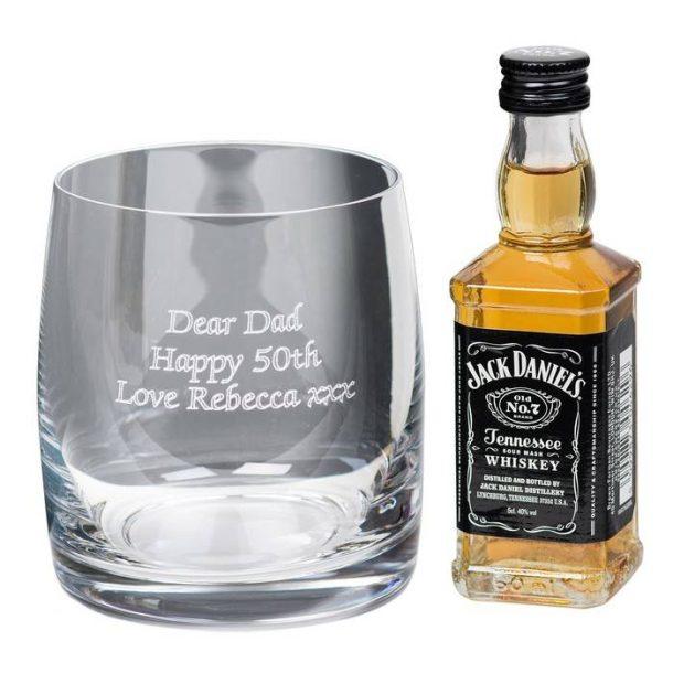 Jack Daniels Whisky Tumbler Gift Set
