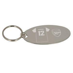 Personalised Arsenal Shirt Key Ring